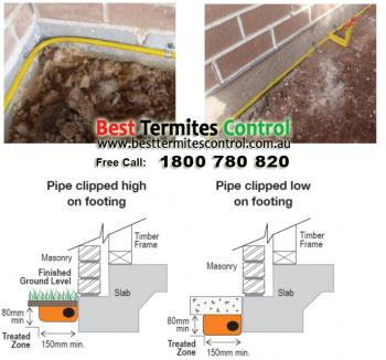 Termite Protection Reticulation System