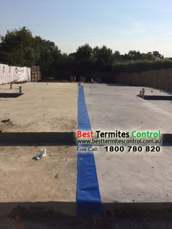 Termite Protection to Construction Joint