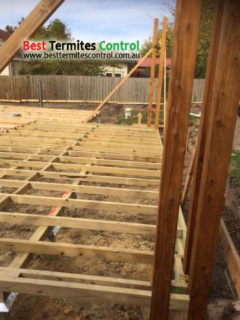 Part A chemical termites treatment