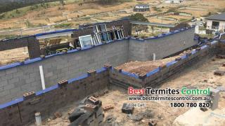 Termite Protection: Home guard Blue Sheet system to Subfloor area in Diamond Creek