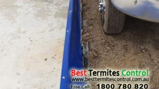 Homeguard Blue Sheet Termites Protection to a house in Cranbourne North