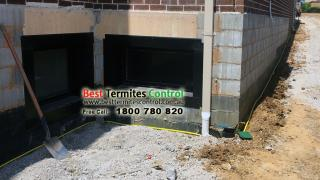 Reticulation system to the perimeter to a house in Mt Waverley