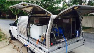 Termites Inspection and Treatment Vehicle in Melbourne