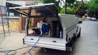 Termites Control UTE Vehicle in Melbourne