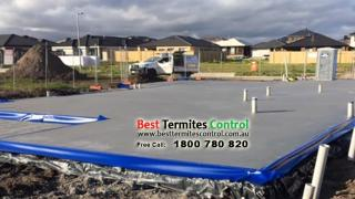 Homeguard Blue Sheet to the slab perimeter in Clyde Victoria