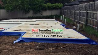 Homeguard blue sheet installed in kilsyth site 2