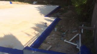 Homeguard on the top of Concrete wall and slab edge in Glen Waverley