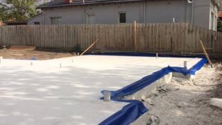 Homeuard-blue-sheet-installed-in-Glenhuntly