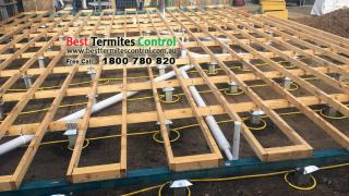Termite Protection: Trem-Stop Reticulation System installed to low clearance subfloor for a project in Wheelers Hill, Vic