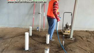 Commercial Termites Treatment for a warehouse in Melbourne