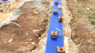Pre-Construction Commercial Termites Treatment - HomeGuard Blue