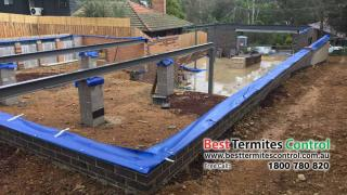 Home guard Blue Sheet system to Subfloor area in Diamond Creek (BTC)